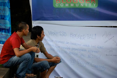 Bali Blogger Community Launching