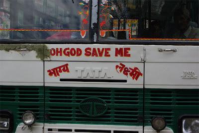 bus to Rekong 2007