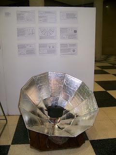 Cocina solar port til planos de montaje y fotos cocina for Planos para cocina solar parabolica
