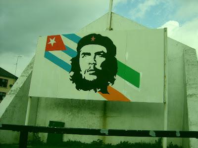 Mural de homenaje al Che Guevara en Belfast Oeste