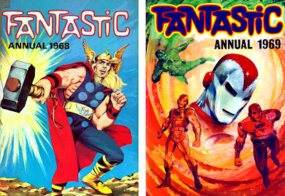 Fantastic, a primeira revista a trazer os heróis Marvel no Reino Unido