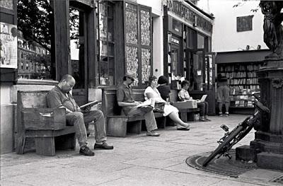 Photo de lecteurs, Quartier latin, Paris V