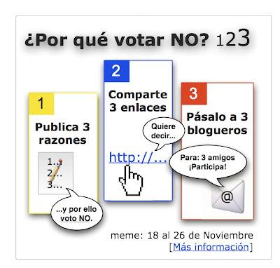 ¿Por qué votar No?