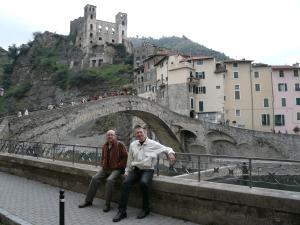 castell, burg i pont romànic