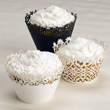 laser-cut cupcake wrapper