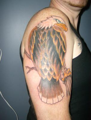 eagle tattoo tattoo art gallery. Black Bedroom Furniture Sets. Home Design Ideas