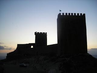 O pequeno castelo de Linhares da Beira