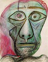 Pablo Picasso, Autoritratto, 1972