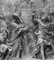 Alessandro Algardi, Papa Leone ferma Attila, 1653