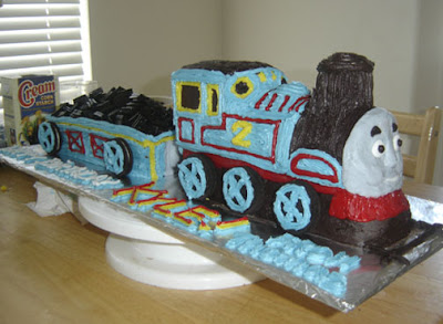 How To Make A Fondant Thomas The Tank Engine Cake Face Ann
