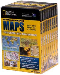National Geographic Maps Complete Collection – 8 CD ISO