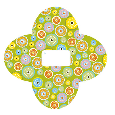 Citrus Flower Envelope