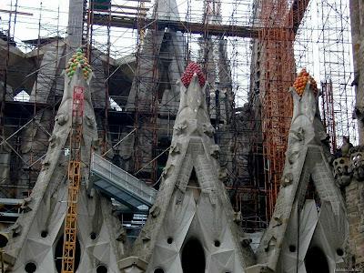 Antoni Gaudí: Templo Expiatorio de la Sagrada Familia (5/6)