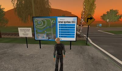 isola Second Life Intel: i servizi