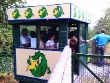 People-Powered Coaster - Green Dragon