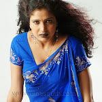Hot South Actress Gayathry  Neval Showing In Saree