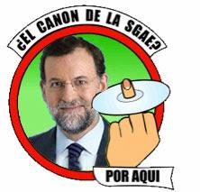 Rajoy dice no al canon