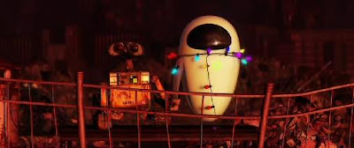 Love Is In The Air in Wall-E, the upcoming Disney Pixar movie.