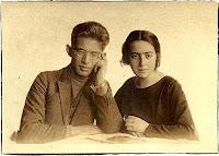 Jacek Goldman and his Sister Wanda, Krakw, 1924