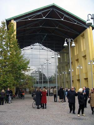 Entrance to Auditorium Paganini