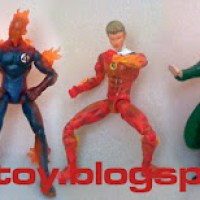Fantastic Four Action Figure Moveable Rp. 155.000