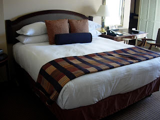 Grand Hyatt San Francisco bed