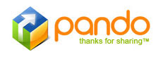 Pando software lets you to send large files and folder as email attachment , IM and web site