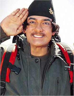Aamir khan in sherpa style wallpaper