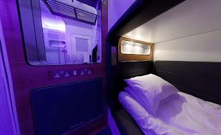 Pequeños espacios como cabinas para pasar algunas horas