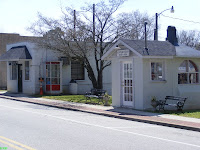 Old and new police stations in Ridgeway South Carolina