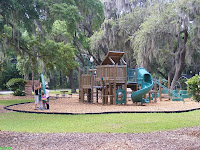 The new playground in Beaufort