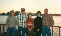 Jackie and me with friends in San Francisco