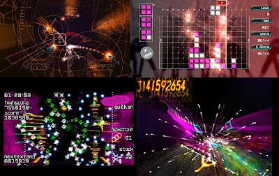 Comparison, Rez, Lumines, Space Girraffe, Every Extend Extra