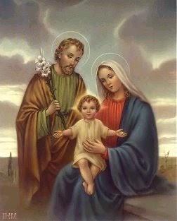 Resultado de imagen de jose y maria y jesus
