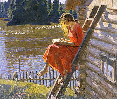 Tkachev Alexei , Sergey Alexei «Summer», 1991, oil on canvas