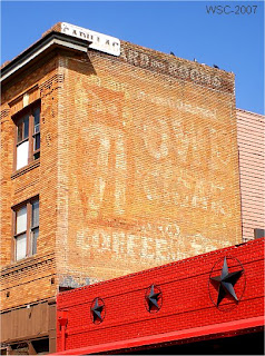 Ft Worth Fading Ads, Wes Carr