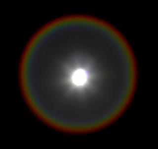 Aneis em torno da Lua