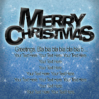 merry christmas postcard greeting card photoshop psd template gtempl mail email letter xmass xmas x-mas