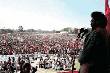 dipanker bhattacharya rally cpi(m-l)