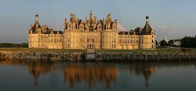 Chambord, fachada, castelos medievais