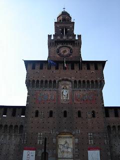 Torre principal del Castello Sforzesco