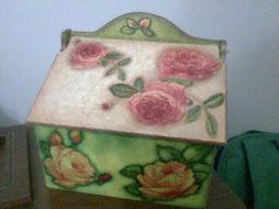 Caja Decorativa Estilo Tradicional