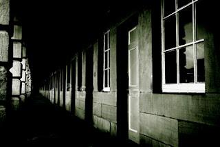 dark corridor image