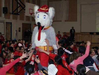Behind The Mascot Harvey The Hound The Sports Daily