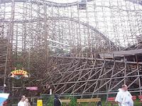 Twister at Knoebels