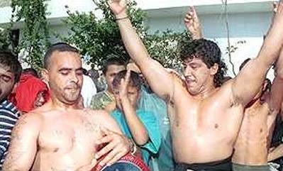 Feiern im Libanon 2001
