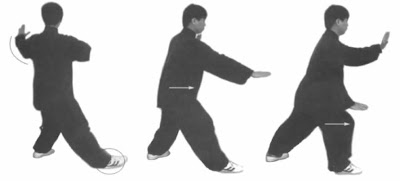 Yang Jun Brush Knee