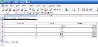 Spool to a  xls (excel) file…   An Oracle blog - Amardeep Sidhu