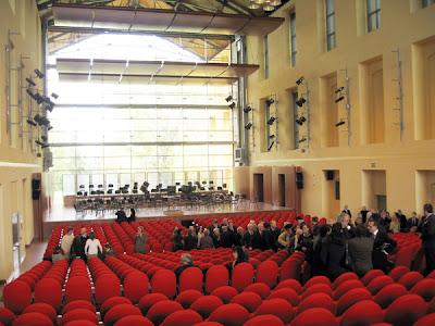 Auditorium Paganini Interior