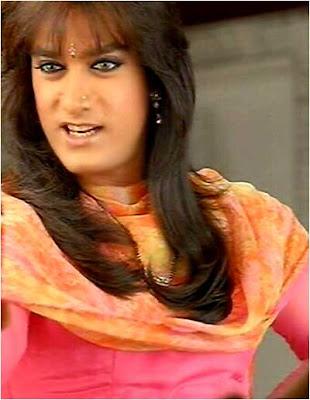 Aamir khan in female getup wallpaper
